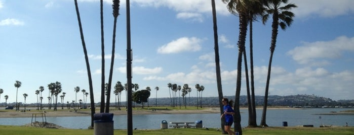 Mission Bay Park is one of Coronado Island (etc).