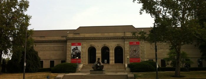 Columbus Museum of Art is one of Stevenson's Favorite Art Museums.