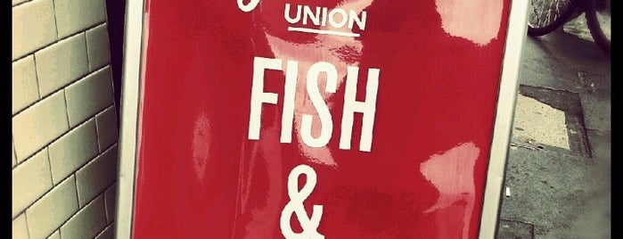 The Golden Union Fish Bar is one of London.