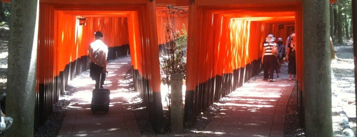 Senbon Torii is one of 伏見.
