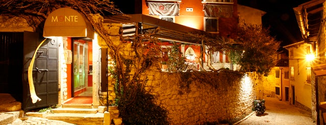 Restaurant Monte Rovinj is one of rstria.