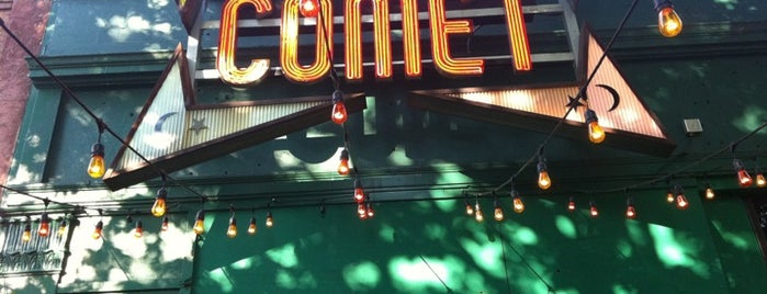 Comet Ping Pong is one of Washington DC.