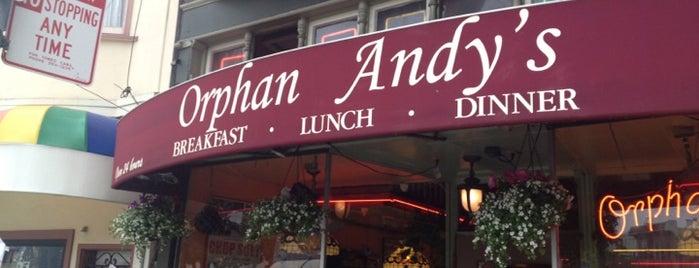 Orphan Andy's is one of Lieux qui ont plu à Erin.