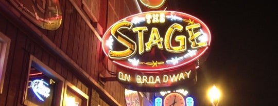 The Stage on Broadway is one of Nashville.