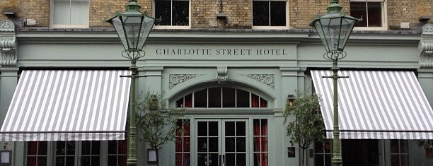 Charlotte Street Hotel is one of 36 hours in...London.