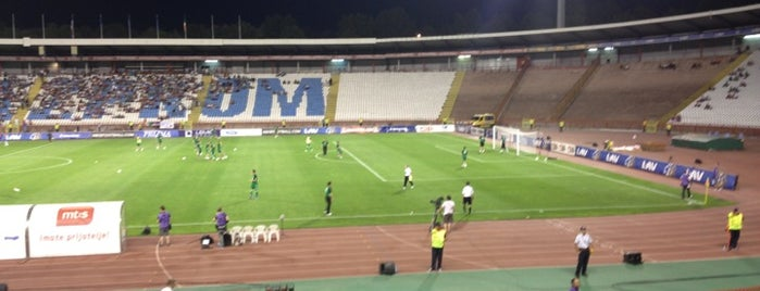 "Stadion ""Rajko Mitić"" is one of 'Stadium Talk'...."