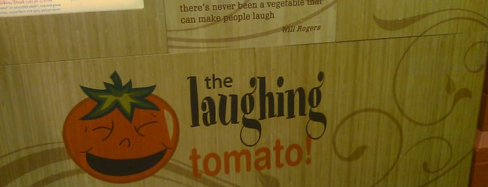 The Laughing Tomato is one of Ashley'in Kaydettiği Mekanlar.