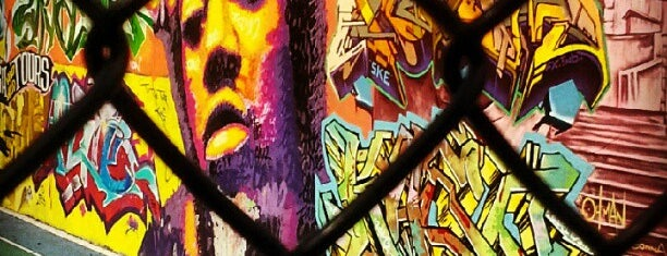 Graffiti Hall Of Fame is one of NY.