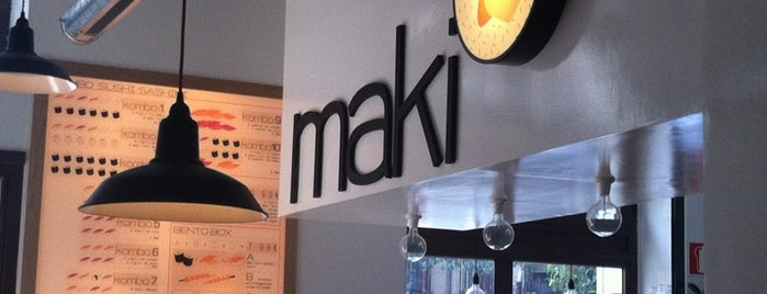 Maki Malasaña is one of Madrid: Comer y beber..