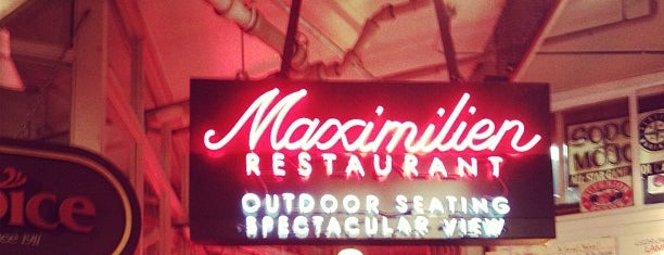 Maximilien Restaurant is one of 2012 MLA Seattle.