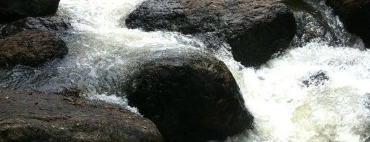 Nang Rong Waterfall is one of Khao Yai.