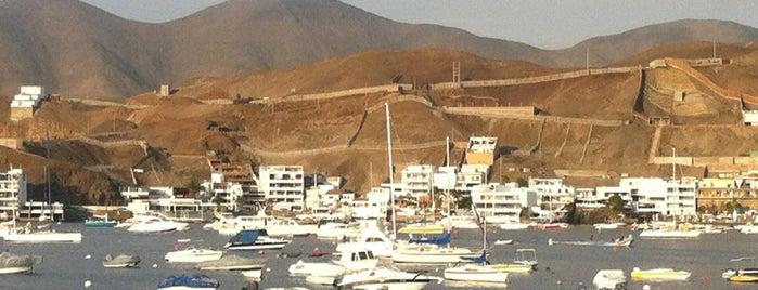 Yacht Club Pucusana is one of Lugares visitados.
