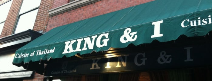 King and I is one of My favorite Boston eatouts.