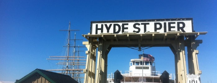Hyde Street Pier is one of SF.