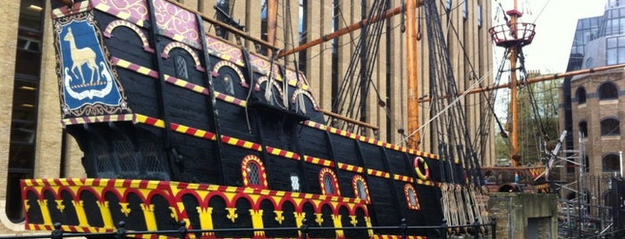 The Golden Hinde is one of Ships (historical, sailing, original or replica).