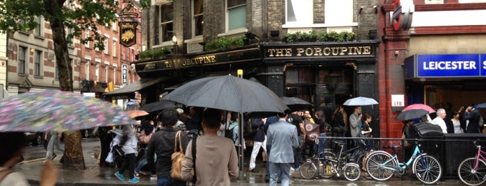 The Porcupine is one of London Pubs.