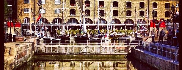 St Katharine Docks is one of ToGo@UK.