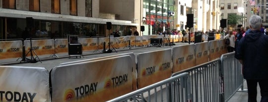 TODAY Show is one of NYC Spots.