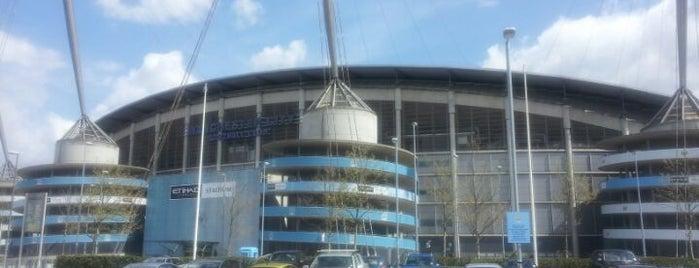Etihad Stadium is one of Sports Arena's.