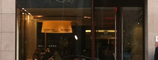 Nespresso Boutique Bar is one of UES musts.