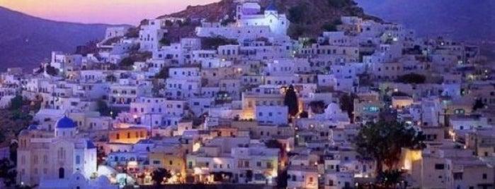 Chora Ios is one of Ios, Greece.