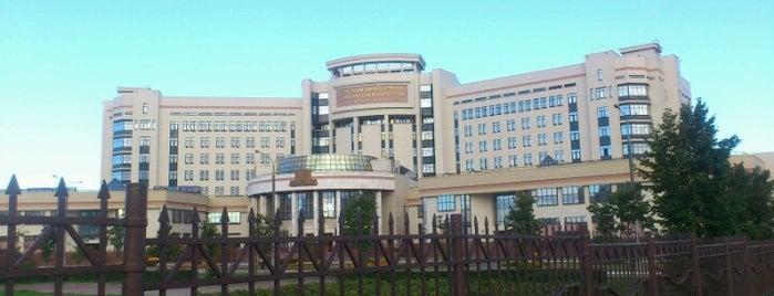 Факультет государственного управления МГУ is one of Москва.