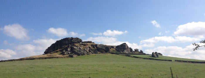 Almscliffe Crag is one of Dog Walking Spots in Yorkshire.