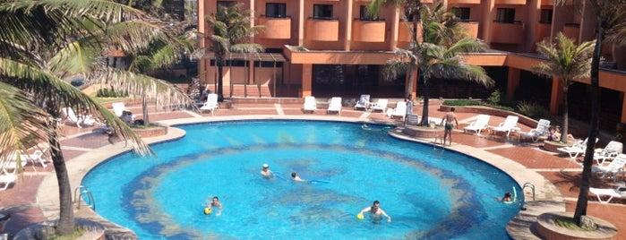 Hotel Vila Galé Fortaleza is one of Tempat yang Disukai Alberto J S.