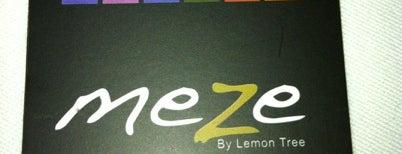 Meze by Lemon Tree is one of İstanbul Meyhaneleri.
