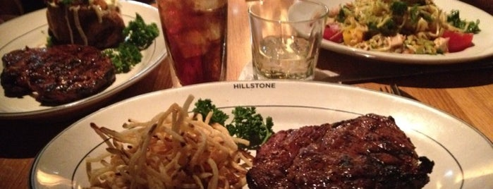 Hillstone Restaurant is one of Locais salvos de Diego.