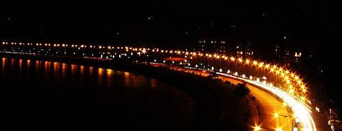 Marine Drive is one of Mumbai, India.