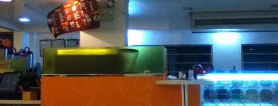 Cobo Bubble Tea & Snow Ice is one of Tomas Morato - Timog Hangouts.