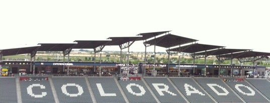 Dick's Sporting Goods Park is one of sports arenas and stadiums.