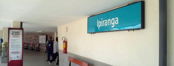 Estação Ipiranga (CPTM) is one of São Paulo ABC, Bares/Cafés, Restaurantes Shoppings.
