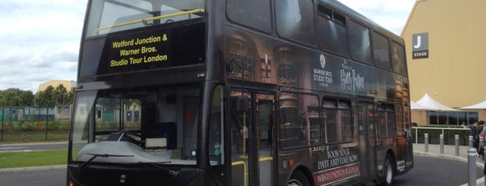 Harry Potter Studio Tour Shuttle Bus is one of London.