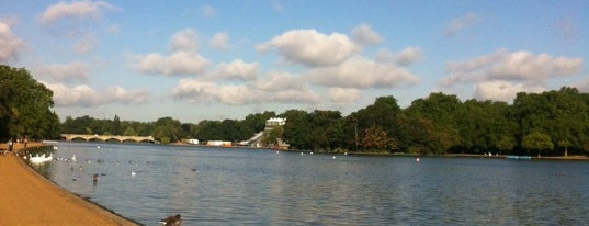 The Serpentine is one of Hi, London!.