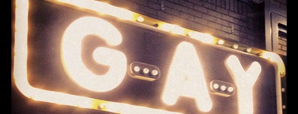 G-A-Y Bar is one of When in London.
