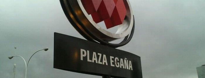 Metro Plaza Egaña is one of María Loreto 님이 저장한 장소.