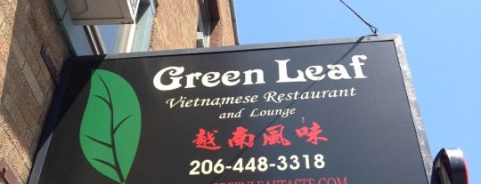 Green Leaf Vietnamese Restaurant is one of สถานที่ที่ Namitta ถูกใจ.