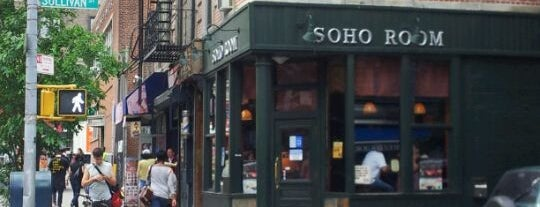 SoHo Room is one of NYC Bars.