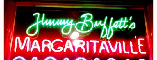 Margaritaville is one of USA Key West.