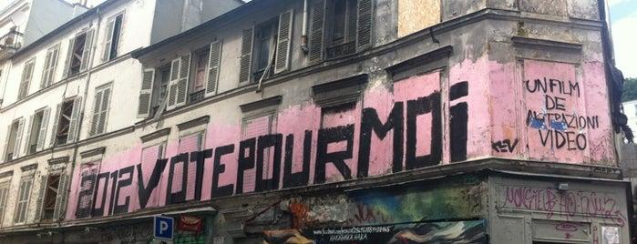 Rue des Trois Frères is one of paris mx.