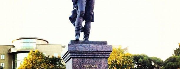 Памятник Багратиону is one of Orte, die Telman gefallen.