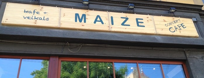 Maize Concept Cafe is one of to Do.