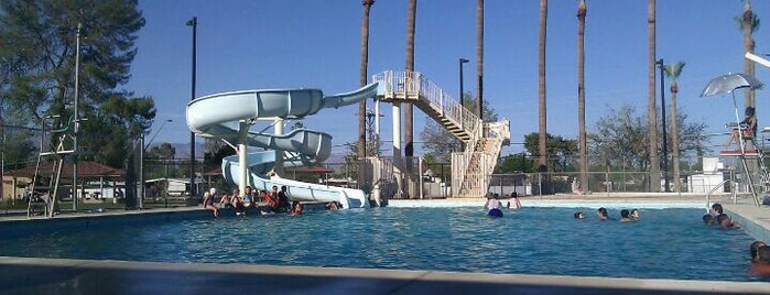Menlo Park Pool is one of City of Tucson Parks.