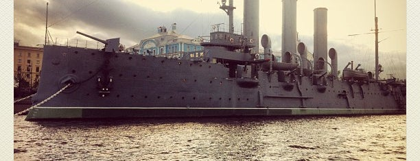 Cruiser Aurora is one of Sight-Seeing in SPB.