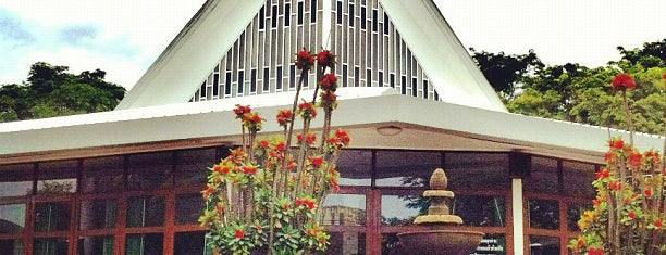 The First Church of Chiang Mai โบสถ์คริสตจักรที่ 1 เชียงใหม่ is one of Thai Flowers.