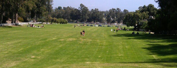 Will Rogers State Historic Park is one of Polo Club Field's.