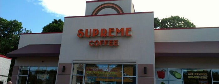 Supreme Coffee and Donuts is one of Good Eats in New England.