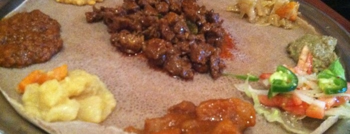 Etete Ethiopian Cuisine is one of crash course: dc.